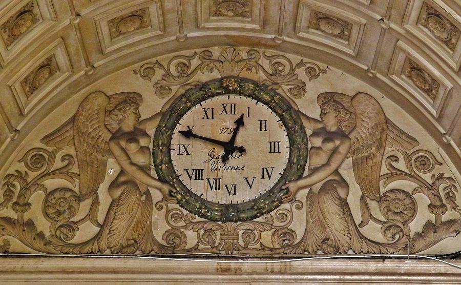 galerie vivienne horloge