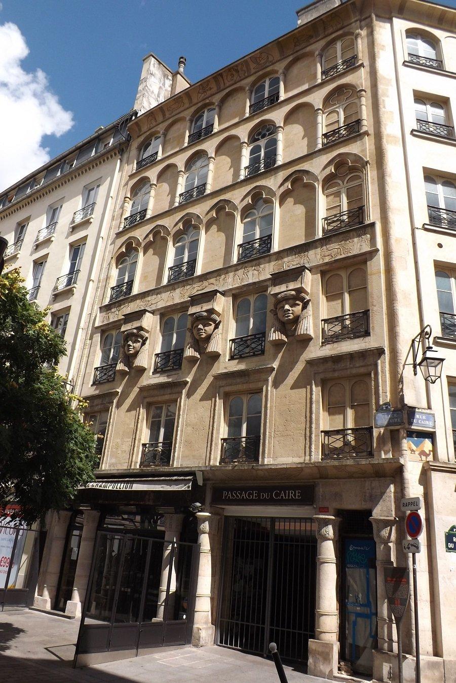 passage du caire façade