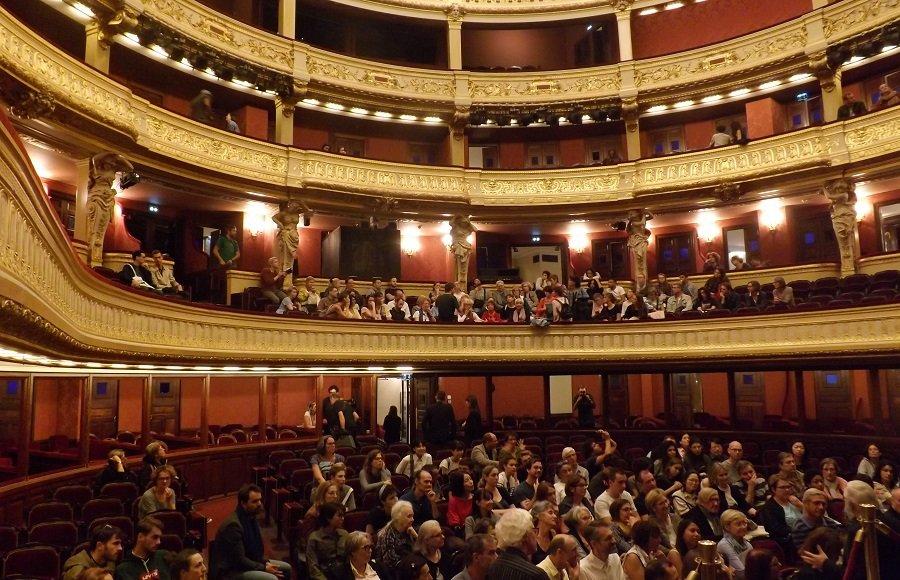 salle opéra comique vue depuis scène
